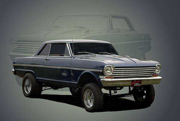 Photograph - 1962 Chevy II Dragster by Tim McCullough