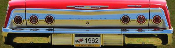 Photograph - 1962 Chevy Impala Ss by David Dehner
