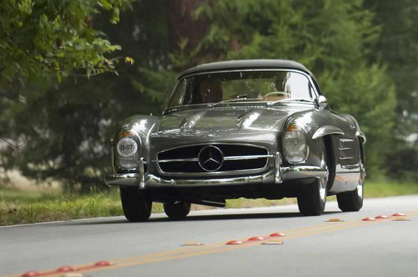 Wall Art - Photograph - 1962 Mercedes-benz 300 Sl Alloy Roadster by Jill Reger