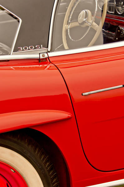 Photograph - 1962 Mercedes-benz 300 Sl Roadster by Jill Reger