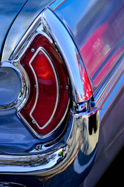 Photograph - 1962 Pontiac Catalina Convertible Taillight by Jill Reger