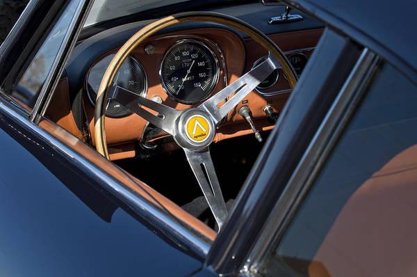 Photograph - 1963 Apollo Steering Wheel     by Jill Reger