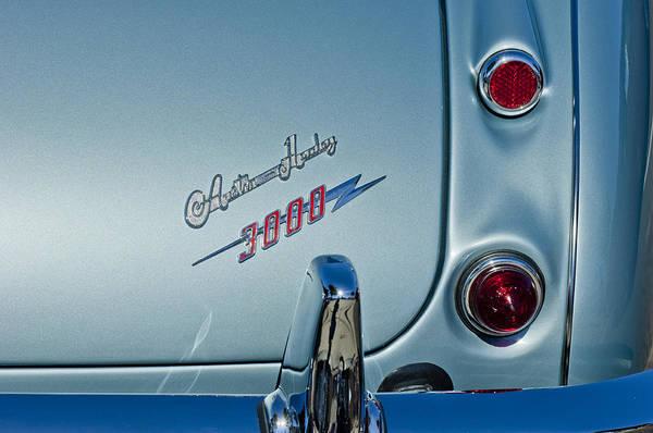 Photograph - 1963 Austin-healey Taillight by Jill Reger