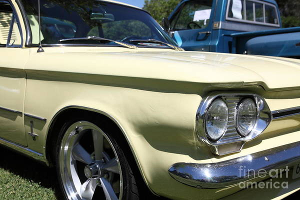 Corvair Photograph - 1964 Chevrolet Corvair Monza . 5d16286 by Wingsdomain Art and Photography
