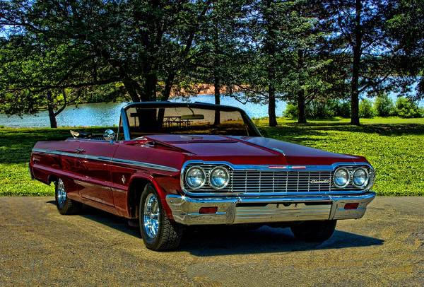 Photograph - 1964 Chevrolet Impala Convertible by Tim McCullough