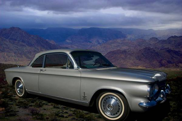 Photograph - 1964 Corvair Sypder  by Tim McCullough