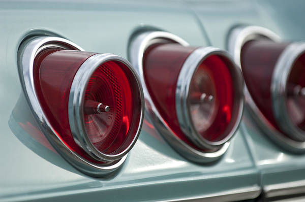 Photograph - 1965 Chevrolet Impala Ss Tail Light by Jill Reger