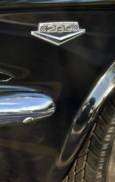Photograph - 1965 Ford Mustang Emblem 3 by Jill Reger