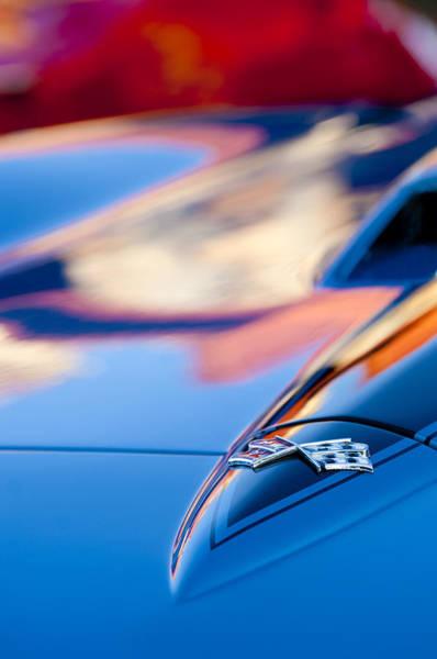 Photograph - 1967 Chevrolet Corvette Hood Emblem by Jill Reger