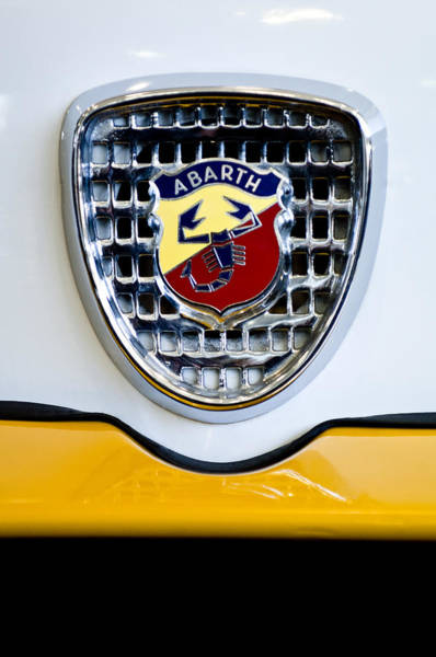 Tc Photograph - 1967 Fiat Abarth Tc Berlina Corsa Emblem by Jill Reger