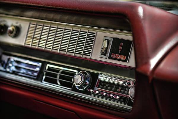 Oldsmobile 442 Wall Art - Photograph - 1967 Oldsmobile Cutlass 4-4-2 Dashboard by Gordon Dean II