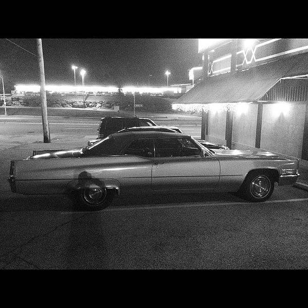 Cadillac Photograph - 1969 Cadillac Coupe Deville by Trey Rucker