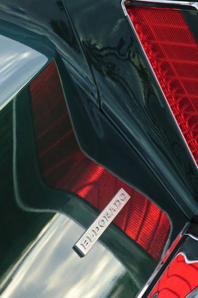 Photograph - 1969 Cadillac Eldorado Taillight 2 by Jill Reger