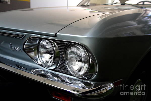 Corvair Photograph - 1969 Chevrolet Corvair 500 by Wingsdomain Art and Photography