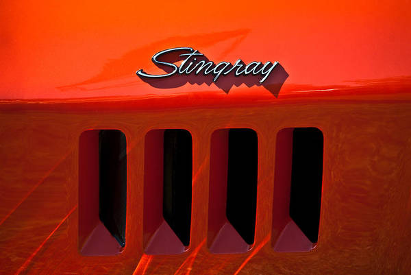 Photograph - 1969 Chevrolet Stingray by  Onyonet  Photo Studios