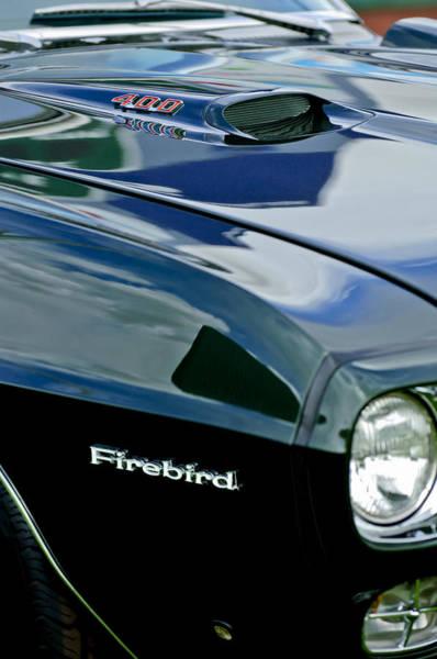 1969 Pontiac Firebird Photograph - 1969 Pontiac Firebird Emblem by Jill Reger