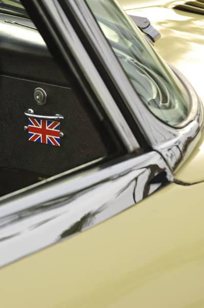 Photograph - 1970 Jaguar Xk Type-e Emblem by Jill Reger