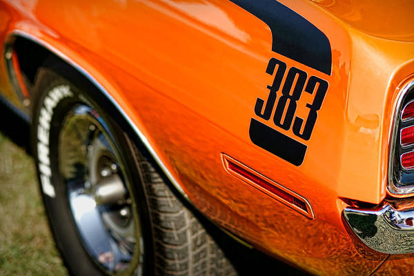 426 Photograph - 1970 Plymouth Cuda Barracuda 383 by Gordon Dean II