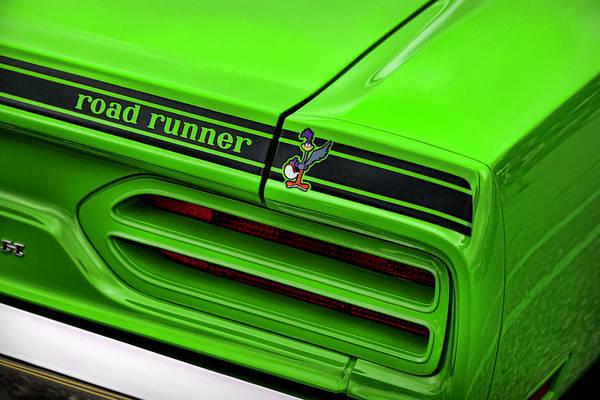 Wall Art - Photograph - 1970 Plymouth Road Runner - Sublime Green by Gordon Dean II
