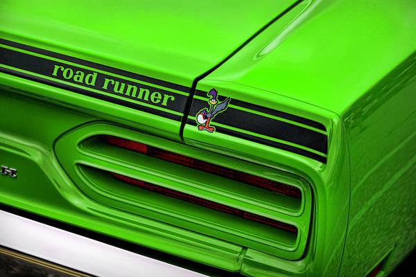 Plymouth Superbird Photograph - 1970 Plymouth Road Runner - Sublime Green by Gordon Dean II