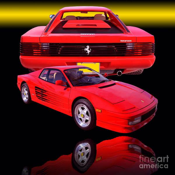 Wall Art - Photograph - 1990 Ferrari Testarossa by Jim Carrell