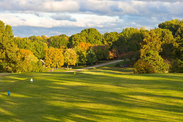 Photograph - 1st Hole At Clarksville Cc by Ed Gleichman