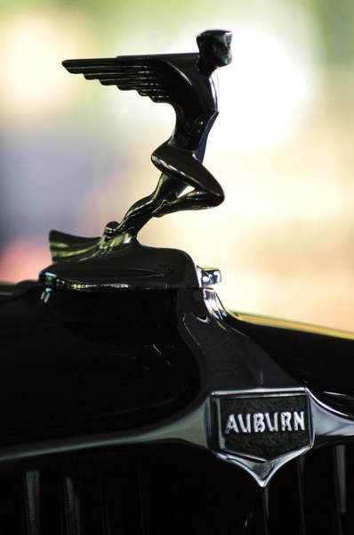Photograph - 1932 Auburn 12-160 Speedster Hood Ornament  by Jill Reger