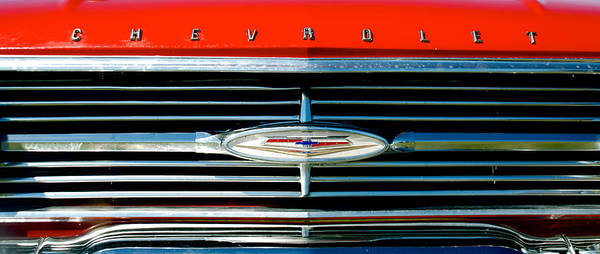 Photograph - 1960 Chevy Impala Convertable by Mark Dodd