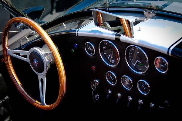 Ac Cobra Wall Art - Photograph - 1966 Ford Ac Shelby Cobra 427 by David Patterson