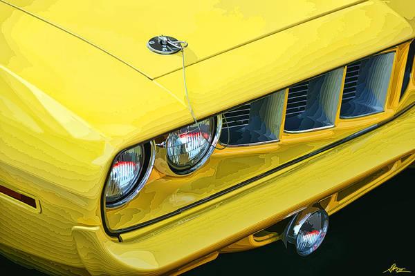 Mopar Photograph - 1971 Plymouth Cuda 440 by Gordon Dean II