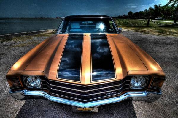 Photograph - 1972 Chevelle by David Morefield