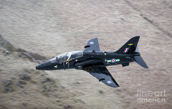 Mach Loop Photograph - A Hawk Jet Trainer Aircraft by Andrew Chittock