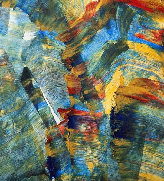 Acrilic Painting - Abstract by Vladimir Veljanovski