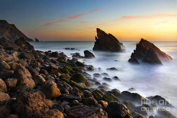 Ocean Breeze Photograph - Adraga Beach by Carlos Caetano