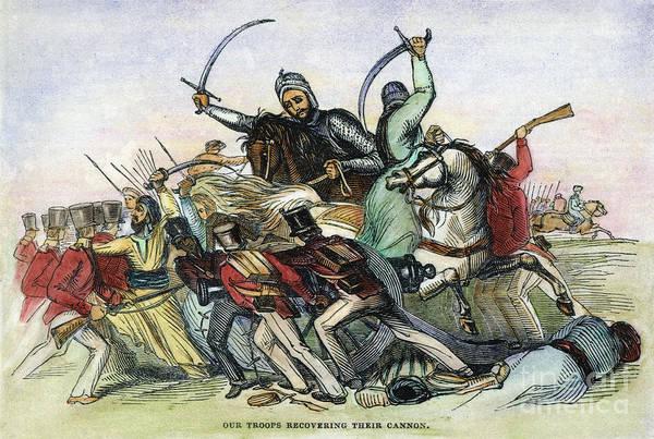 Wall Art - Photograph - Afghan War, 1842 by Granger