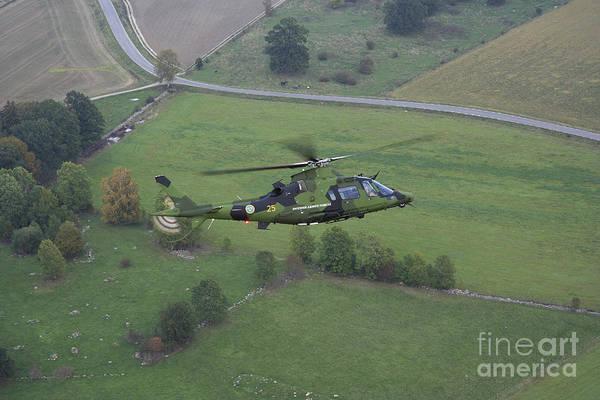 Agustawestland Photograph - Agustawestland A109 Helicopter by Daniel Karlsson
