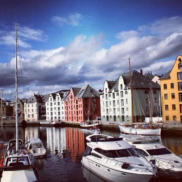 Sea Photograph - Alesund - Norway by Luisa Azzolini