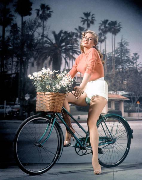 Basket Stars Photograph - Anita Ekberg, 1950s by Everett