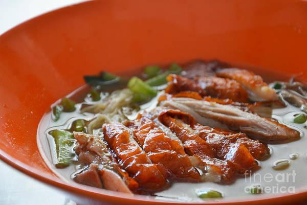 Duck Meat Photograph - Asian Food by Rakratchada Torsap