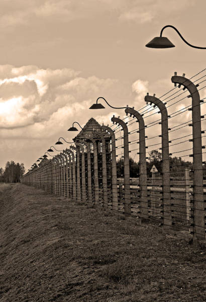 Holocaust Photograph - Auschwitz Birkenau Concentration Camp. by Fernando Barozza