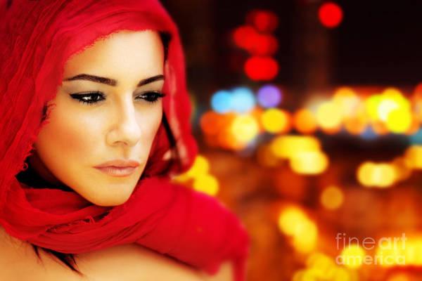 Wall Art - Photograph - Beautiful Arabic Woman by Anna Om