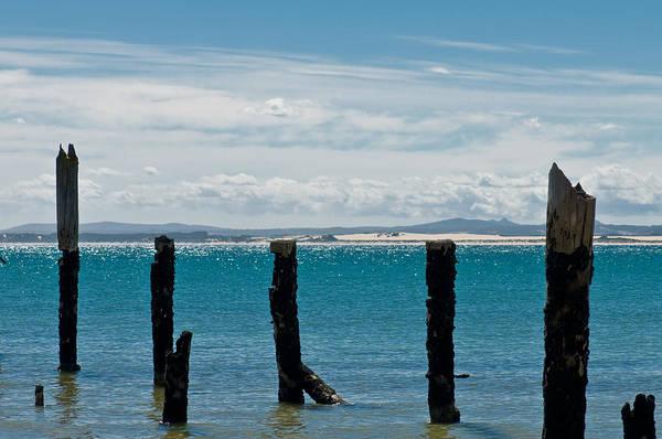 Photograph - Beautiful Rotten Mooring On A Beach by U Schade