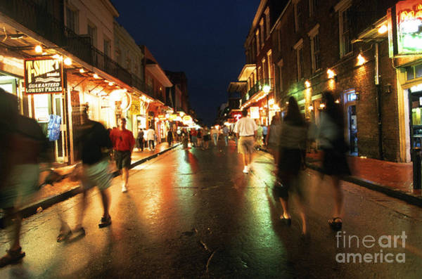 Photograph - Bourbon Street At Dusk by Thomas R Fletcher