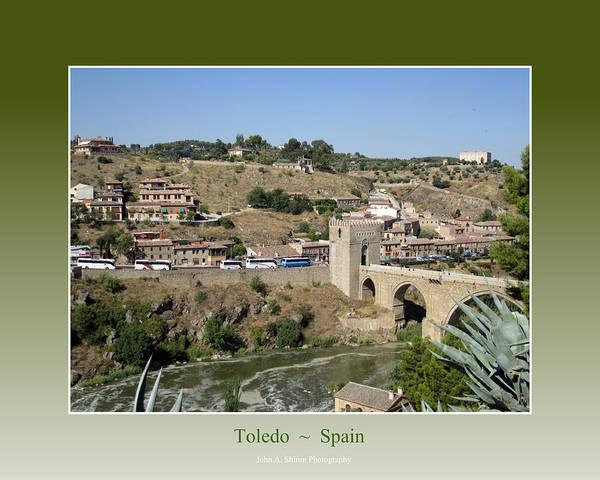 Photograph - Bridge Across Toledo by John Shiron