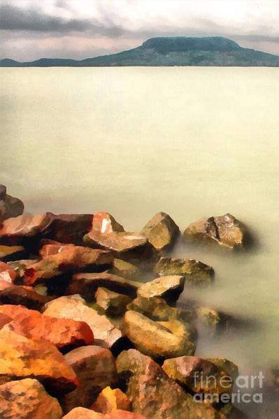 Digitalart Painting - Calm by Odon Czintos