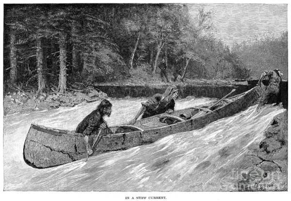 Remington Photograph - Canada: Fur Trade by Granger