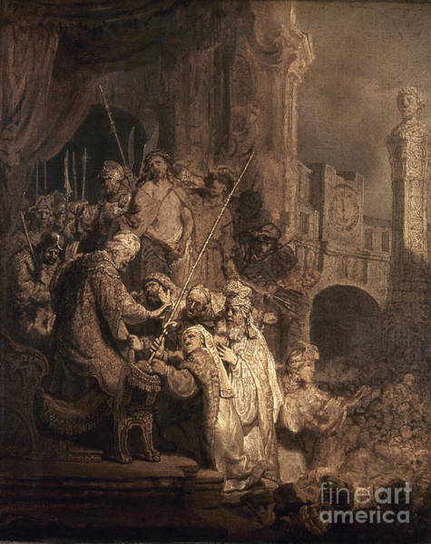 Pontius Pilate Wall Art - Photograph - Christ Before Pilate by Granger