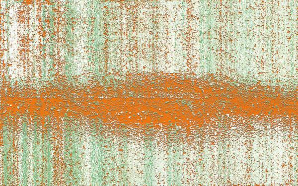 Art Print featuring the digital art Color Rust by Mihaela Stancu
