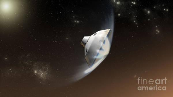 No Entry Digital Art - Concept Of Nasas Mars Science by Stocktrek Images