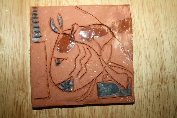 Ceramic Art - Crazy Pineapple by Gloria Ssali